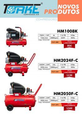 TORKE - Novos compressores